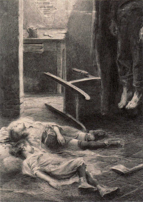 Emil Holárek - And Forgive Us Our Sins, c. 1900