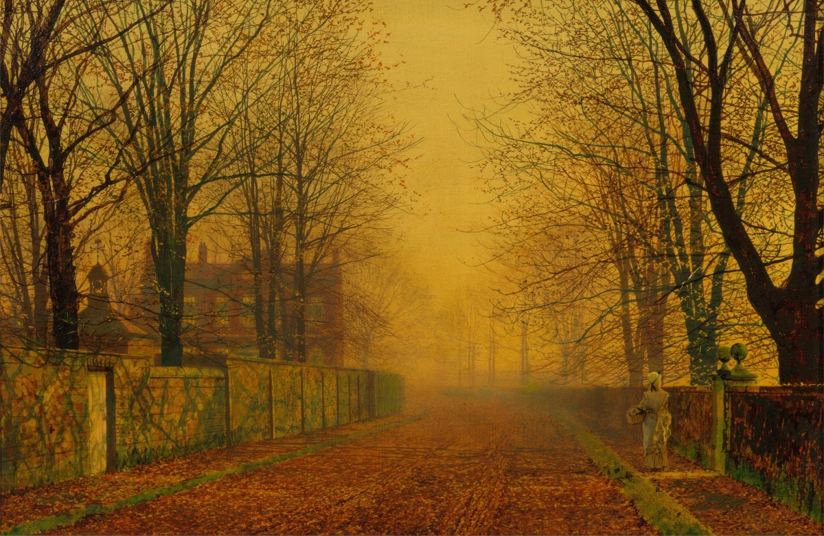 The Moonlight: John Atkinson Grimshaw